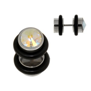316L Pseudo-Plugs, 8mm, AB