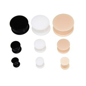 Silikon-Plug in 3 verschiedenen Farben von 4mm bis 20mm Durchmesser