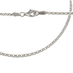 Erbskette aus Sterling Silber in mehreren Längen