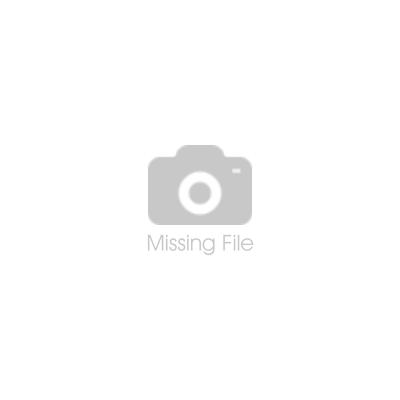 Rockband aus Leder mit schwarzem Kalbsfell und einem runden Obsidian