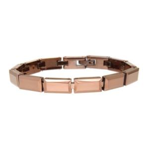 Armband aus Tungsten, rostfarben, 18cm