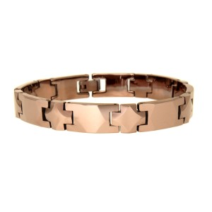 Armband aus Tungsten, rostfarben