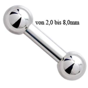 Maxi Standard Barbell 4,0mm Stärke