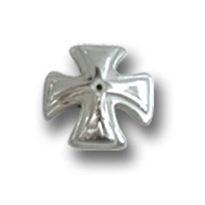 Schraubaufsatz für Labret oder Barbell Hantel Kreuz