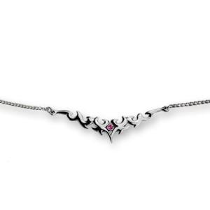 Back Belly Chain aus 925 Sterling Silber, keltisches Motiv