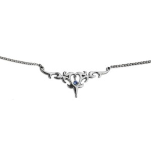 Back Belly Chain aus 925* Silber