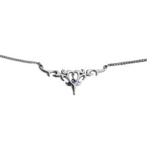 Back Belly Chain aus 925 Sterling Silber, aufwendiges Motiv