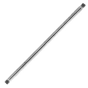 Standard Barbell ohne Kugeln in 1.6mm Stärke