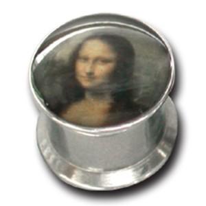 Ohrlochdehner 12mm Plug mit Motiv