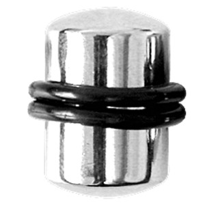 Ohrplug aus Stahl von 2,0 bis 19,0mm Stärke