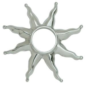 Brustwarzenpiercing aus 925 Silber mit Sonne