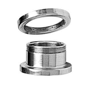 Ohrtunnel aus Stahl 9mm bis 15mm Durchmesser
