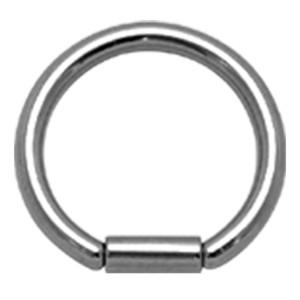 316L BCR Klemmkugelring Ball Closure Ring mit Stabverschluss