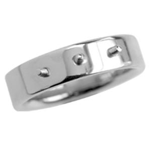 Stahlring mit drei Gewinden zum aufschrauben
