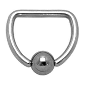 D-Ring aus Chirurgenstahl