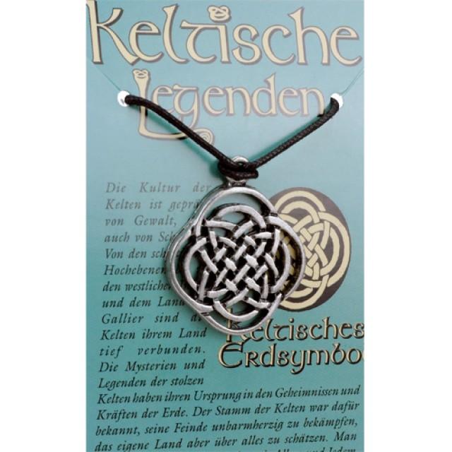 kettenanh nger keltische legenden erd symbol clg 02. Black Bedroom Furniture Sets. Home Design Ideas