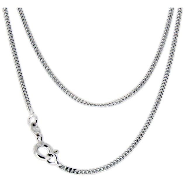 Silberkette  925 Sterling Silber Kette 41cm lang [925-CHAIN-41]