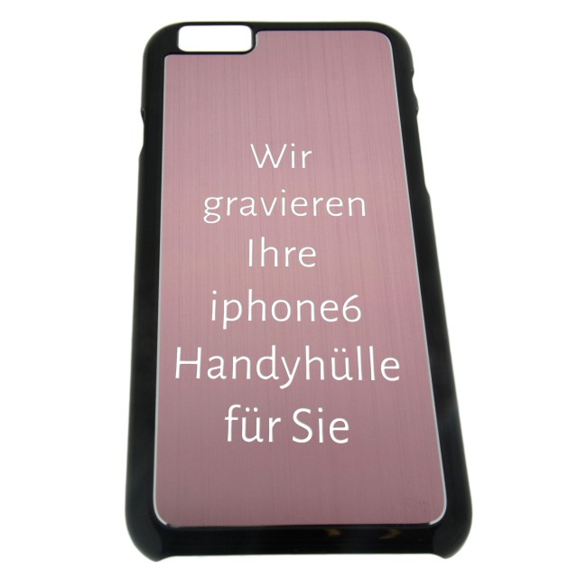 handy cover f r iphone6 mit gravur in farbvarianten las. Black Bedroom Furniture Sets. Home Design Ideas