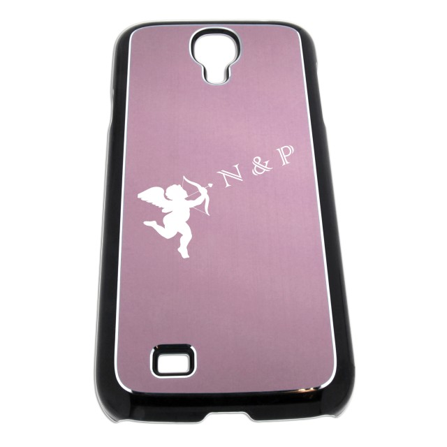 handy cover f r samsung galaxy s4 mini mit gravur pink. Black Bedroom Furniture Sets. Home Design Ideas