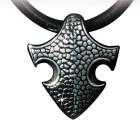 KoolKatana Kettenanhänger mit Lederband in Drachenhaut Optik