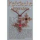 Kettenanhänger keltische Legenden - Tara Symbol mit Swarovski