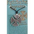 Anhänger keltische Legenden - Sankt Patrick Symbol