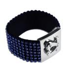 Armband mit 7 Reihen Strass-Steinen