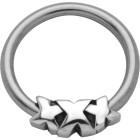 Ball Closure Ring mit Triple X Design