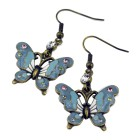 SONDERANGEBOT: French Kitty Ohrhänger mit Schmetterlings Design