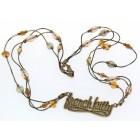 Halskette mit French Kitty Schriftzug