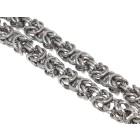 Schweres Königs-Armband aus Edelstahl in drei Längen