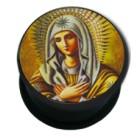 Picture Plug aus Kunststoff, Motiv Mutter Gottes