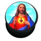 Picture Plug aus Kunststoff, Motiv JESUS