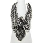 Schwerer Silberring Adler