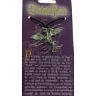 Kettenanhänger mit Drachen Design - fliegender Drache