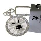 spinning rabbit head on crystal wheel, platinum pl