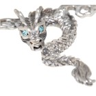 Back Belly Chain Drache aus 925 Sterling Silber