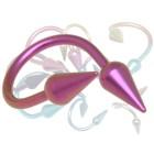 Body Twister aus Titanium mit Aufschraubspitzen