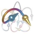 Body Twister aus Titan mit Aufschraubspitzen 1.6mm
