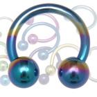 Circular Barbell aus Titanium in 1.0 bis 1.6mm Stärke