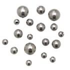 Chirurgenstahl Gewindekugeln mit 1.6mm Gewinde in 5 verschiedenen Durchmessern