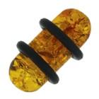 Ohrlochdehner 8mm aus Kunststoff