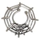 Brustwarzen Clip aus 925* Silber - Spinne